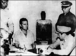 Castro arrested in July 1953