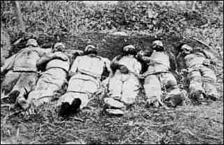 Executed Cuban soldiers