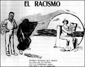 Cartoon El Racismo