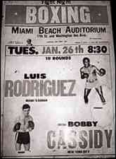 Boxing Poster, Cuban boxers