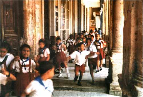 Young Cuban Students